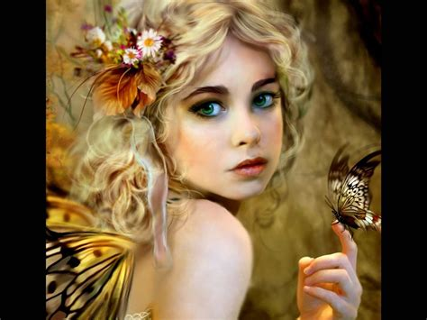 Green Fairy Face Painting | , blue, body, brown, butterfly