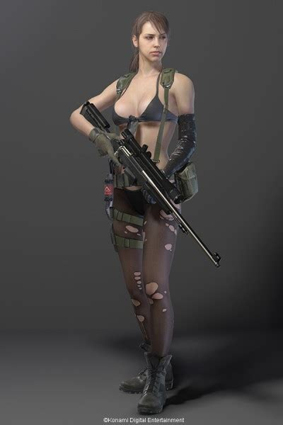 Hideo Kojima releases Metal Gear Solid V sexy images of