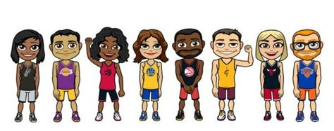 NBA Expands Partnership With Snapchat, Adds Bitmoji Feature