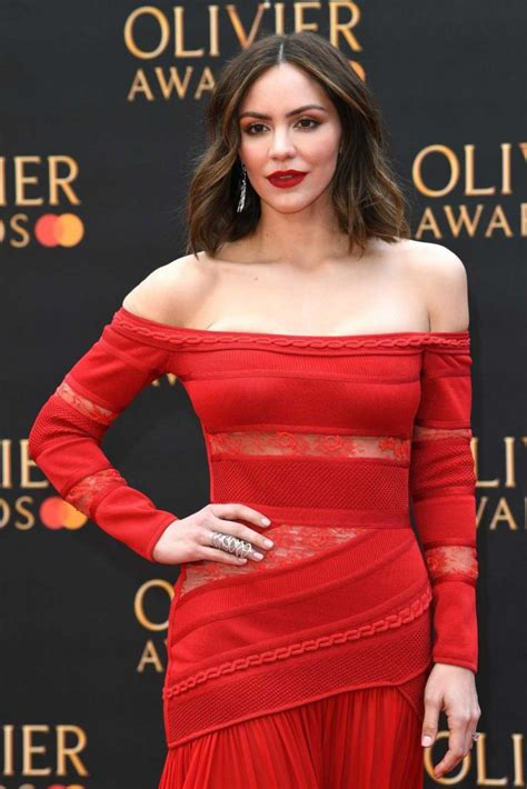 Katharine McPhee Attends 2019 Laurence Olivier Awards in
