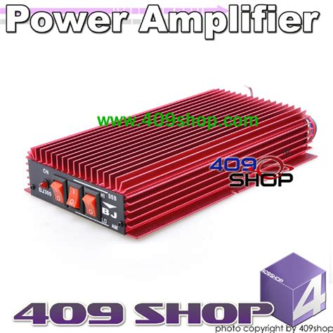 Power Amplifier 100W FM 150W AM 300W SSB 20-30MHZ BJ-300