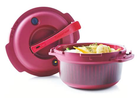 Cocotte minute micro-ondes Tupperware W77, auto-cuiseur