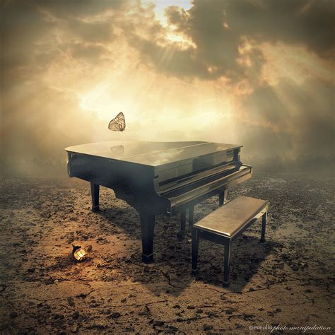 piano | a photomanipulation work with my own photo if you