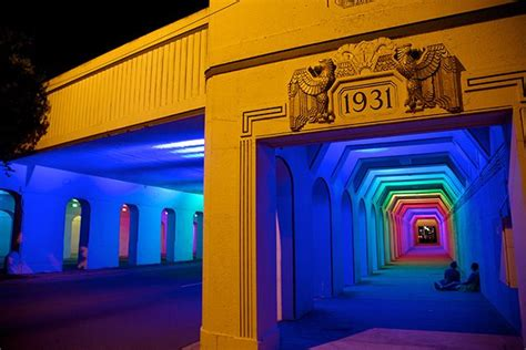 LightRails: A Neglected Railroad Underpass Illuminated by