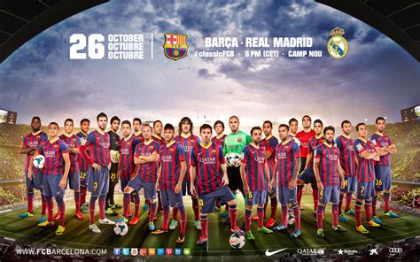 The Clásico's Wallpapers - FC Barcelona