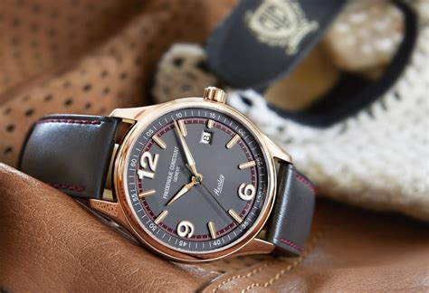 Frederique Constant's tribute Vintage Rally collection