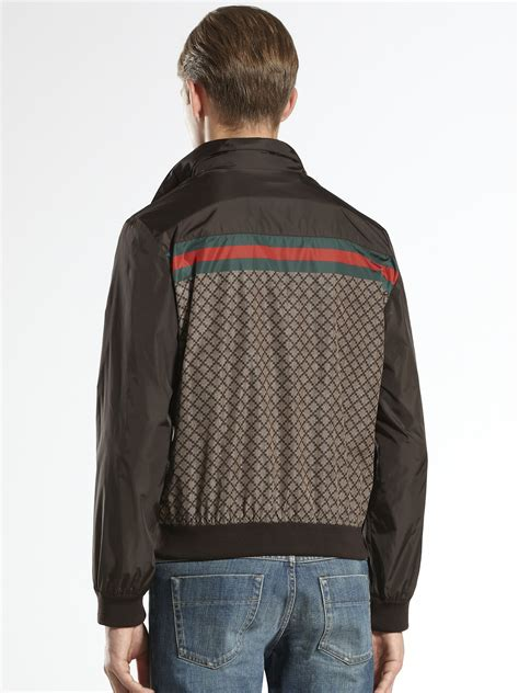 Lyst - Gucci Diamante Jacket in Brown for Men