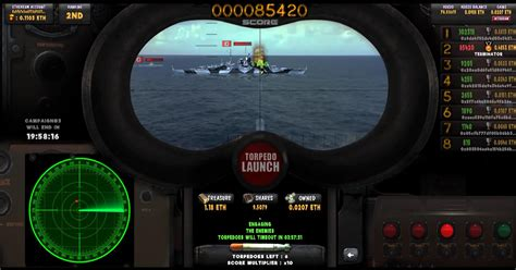 Torpedo LAUNCH — A featured skill-based Submarine arcade Game
