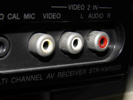 RCA connectors color coding | What RCA cables are used for