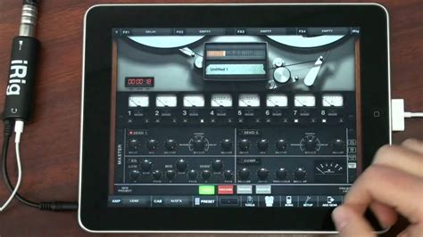 AmpliTube 2 for iPad and iRig - Record a Full Song on Your