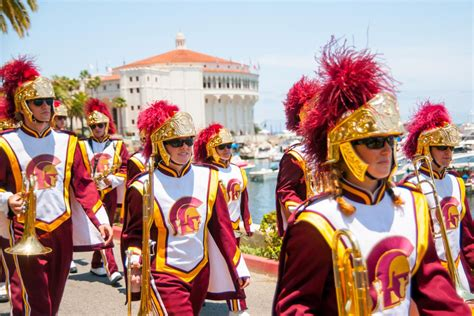 Trojan Marching Band sets sail for its annual Catalina