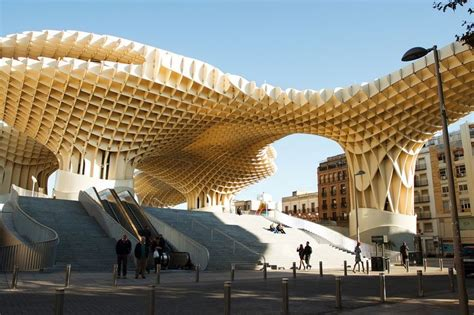 Metropol Parasol: The World's Largest Wooden Structure
