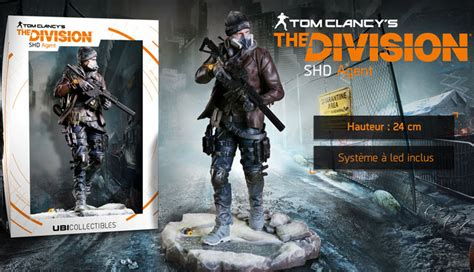 The division édition collector Figurine SHD agent PS4 Xbox