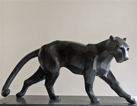 Big Cats and Feline Sculptures by Pascal Masi   Sculpture