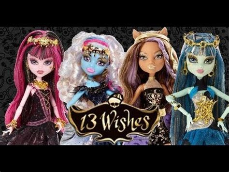 13 Wishes Abbey! *Monster High Mattel Official* - YouTube