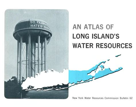 An atlas of Long Island's water resources : Cohen, Philip