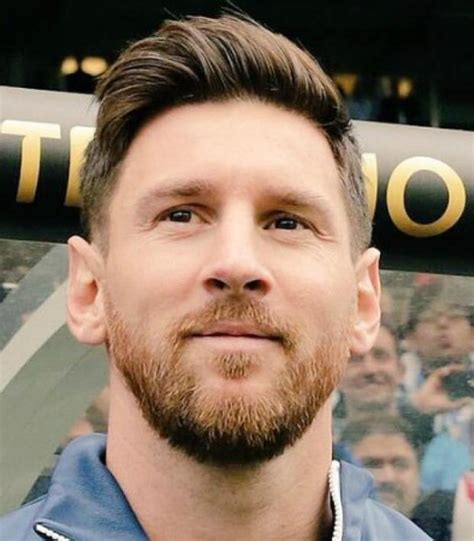 Messi's Beard Is Dope And Good And Cool