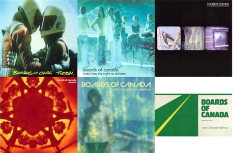 Album Review: Boards of Canada - Reissues