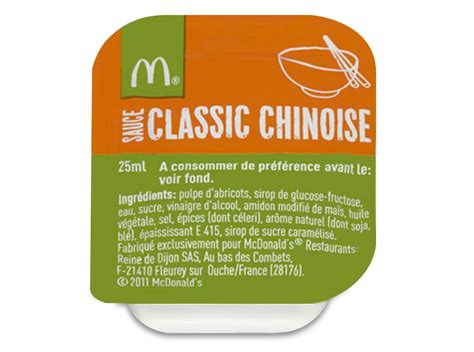 recette sauce chinoise mcdo