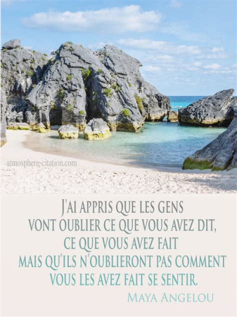 Citations & Proverbes sur Maya Angelou - Atmosphère Citation