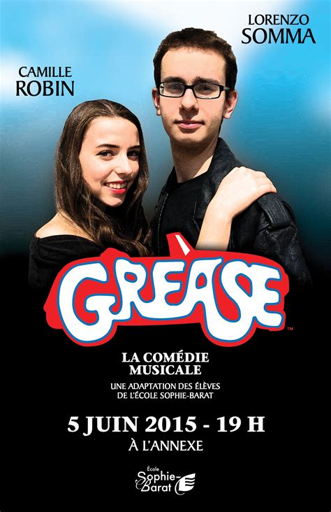 Comédie musicale Grease