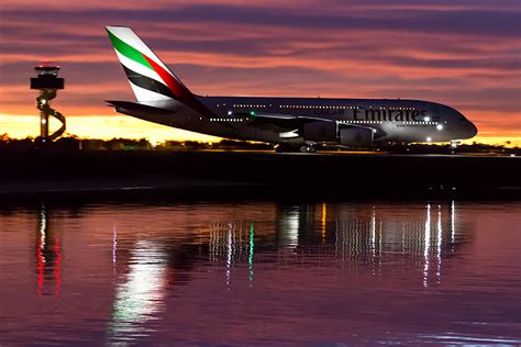 Emirates Airbus A380   Emirates 415 taxiing for departure