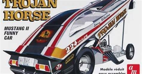 AMT AMT1009 Trojan Horse Mustang II Funny Car 1/25 Scale