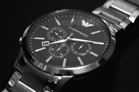 Free picture: wristwatch, analogue, chrome, classic