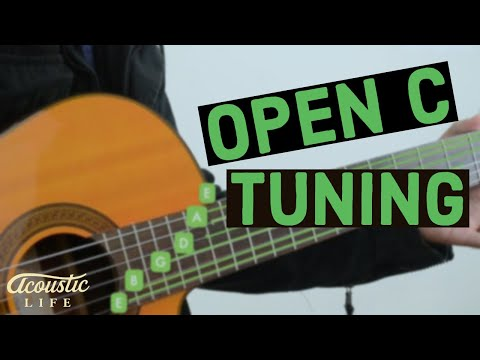 """How to Use Your """"Open G Tuning"""" Riffs in Any Key: Tuning"""