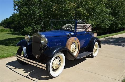 Find used 1930 Model A Ford Cabriolet in Fredericktown