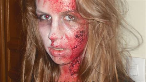 HALLOWEEN MAQUILLAGE HORREUR EFFETS SPECIAUX - YouTube