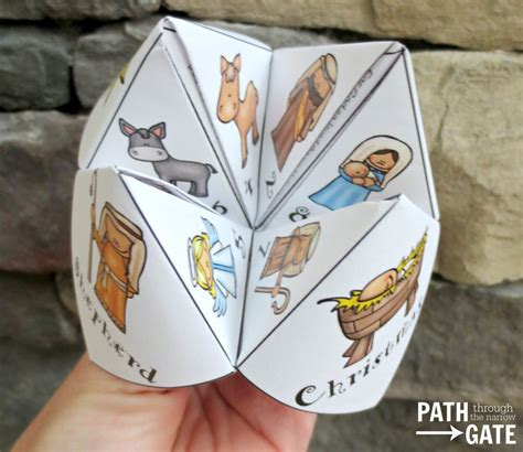 Christmas Finger Puzzle - Path Through the Narrow Gate