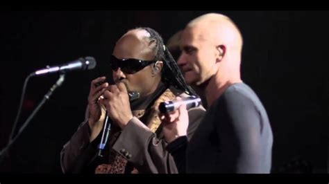 """Sting and Stevie Wonder - """"Fragile"""" (from Sting's 60th"""