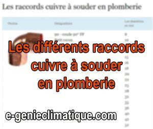 Raccord Plomberie Pvc - Plombier Climatisation Isolation