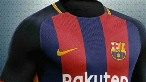 A new version of Barcelona's 2018-19 kit appears
