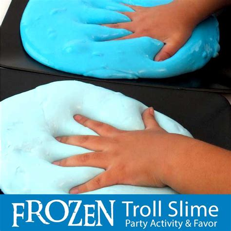 Disney Frozen Troll Slime - Two Sisters Crafting