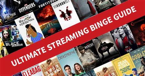 153 Top Streaming Series and Movies You Should Binge-Watch Now