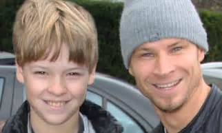 Backstreet Boys' Brian Littrell steps out of hotel in