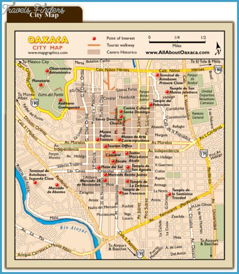 Tijuana Mexico Map Tourist Attractions - TravelsFinders