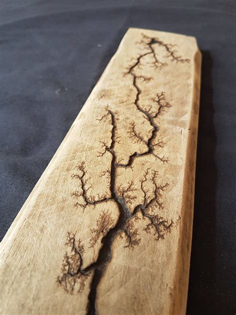 Pyrography is the process of burning artistic images into