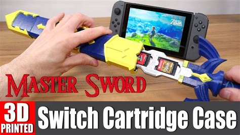 Protect Your Switch Games with this 3D-Printed Master