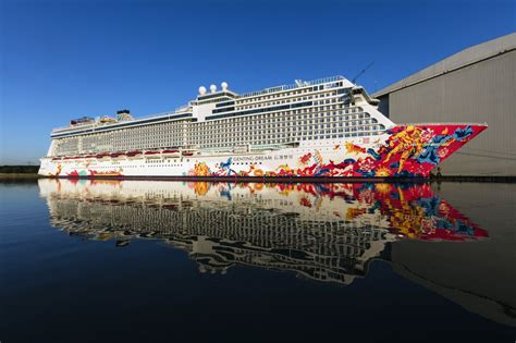 Meyer Werft : Le Genting Dream va quitter Papenburg | Mer