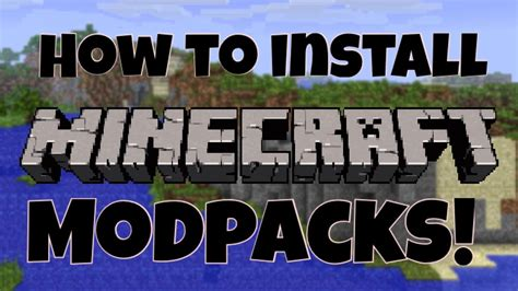 How to install Minecraft Modpacks! (Technic Launcher