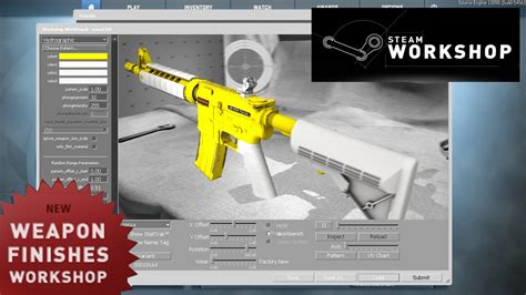 CS:GO Workshop: Weapon Finishes - How To Create Your Own
