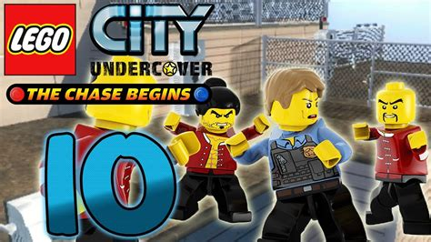 Let's Play Lego City Undercover The Chase Begins Part 10