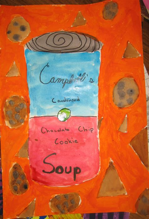 The smARTteacher Resource: Andy Warhol Soup Cans