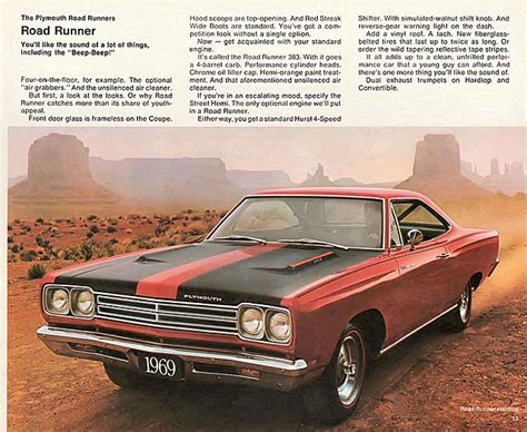 Rear View Mirror: 1969 Plymouth Road Runner - Classic Cars