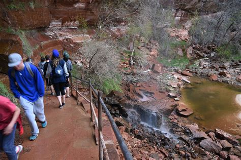 Lower Emerald Pool Trail in Zion National Park reopens