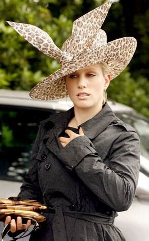 Zara Phillips from Stars in Big Crazy Hats | E! News