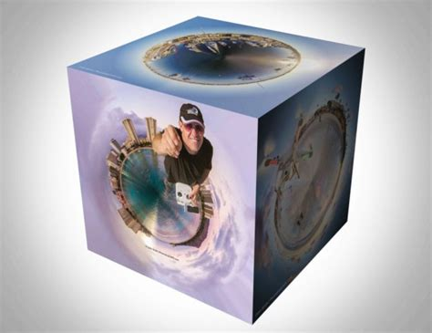 How to make a 3d photo cube in photoshop
